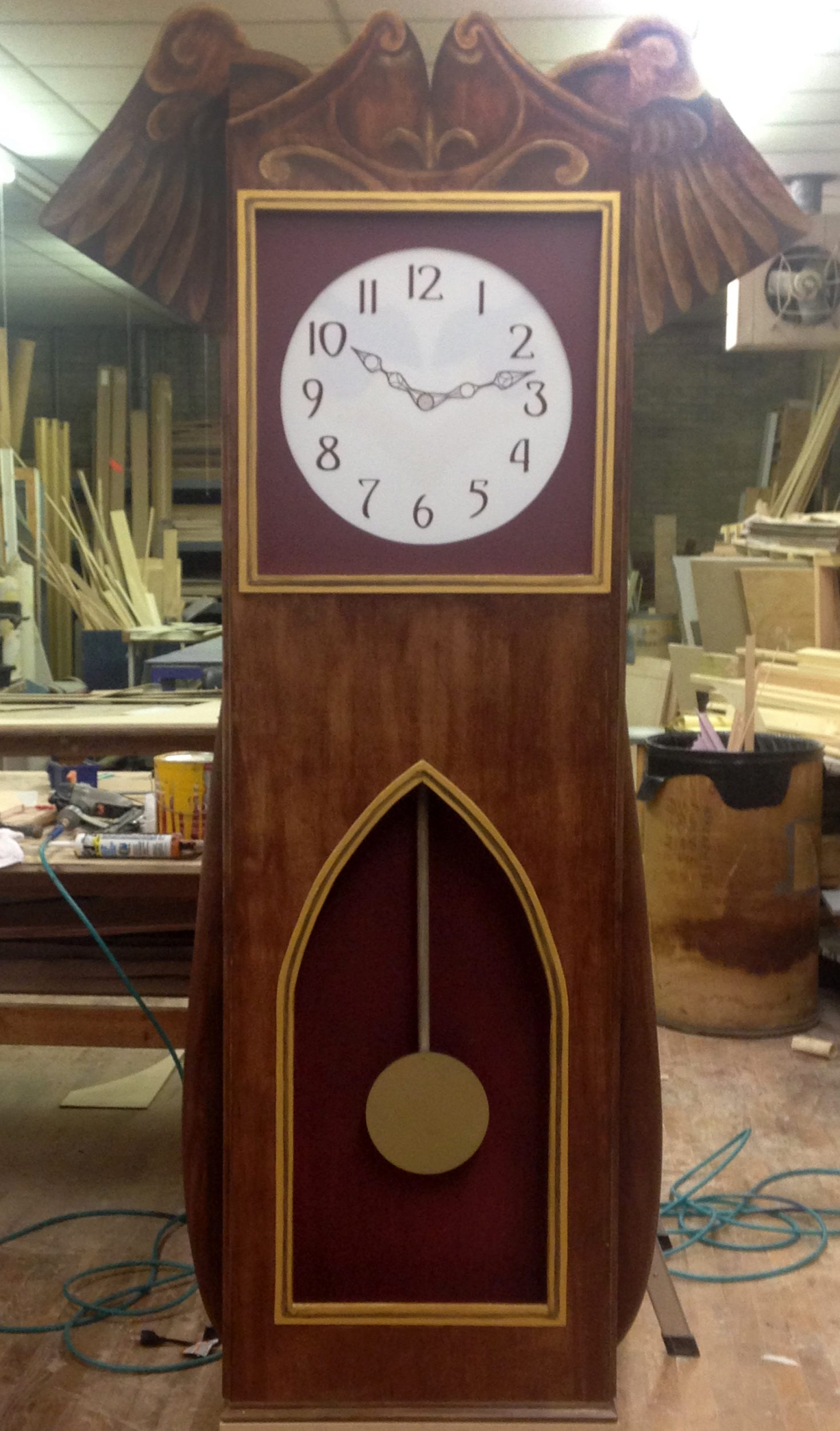 """The Nutcracker"" Door & Clock"